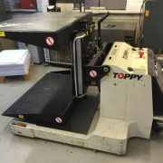 Toppy JS Pile Turner - used bindery machines - used pile turner