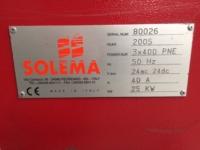 Solema Pluton palletizer | used solema palletizer | used palletizer | Rob-Son Graphics International B.V.