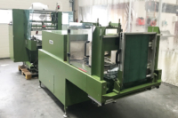 Kalfass SW650 de Luxe in-line foil packaging machine with shrink tunnel | used foil packaging machines