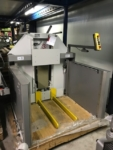 used polar ll 600 k 3 air pallet lift, polar stacker, polar ll600 pallet lift, used polar pallet lift, rob-son graphics international bv, used bindery machines