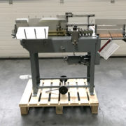 Jos Hunkeler End Sheet Gluing Machine end paper hunkeler gluing machine hand book bindery machines, used bindery machines