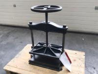 Karl Krause spindle press, used book press, used press karl krause, used spindle press