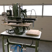 Kensol hot stamp foil roll leaf stamping press