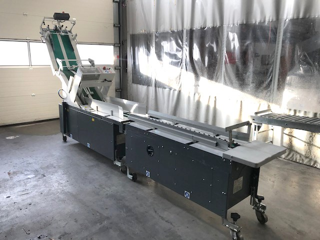 Used OMG Sin Cronos Stream Feeder Used OMG bindery machines equipment Used stream feeders