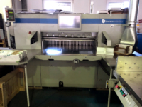 used Wohlenberg 115 high speed guillotine line