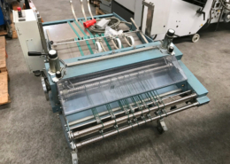 Used MBO ASP 66-2ME mobile stream delivery with integrated pressing station