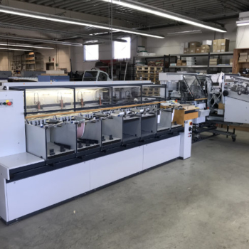 used Theisen & Bonitz tb sprint B307 gatherer / collater with 304 QSM