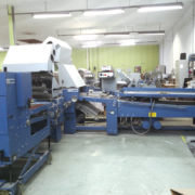 Used MBO B30 folding machine with SBAP 72 ME delivery