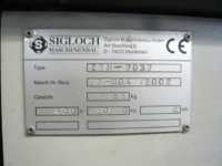 Used Sigloch ZTM Gathering Machine / Collator 7037