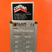 used Filma FP30 pallet foil wrapper